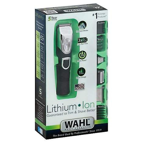 Wahl Trimmer All In One Lithium Ion - Each