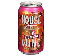 House Wine Sangria Can Wine - 375 Ml