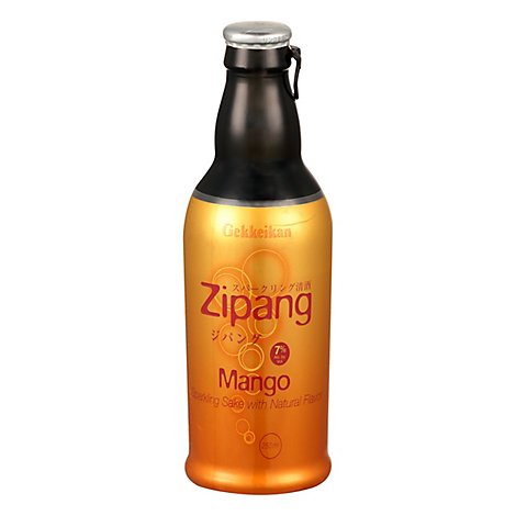 Gekkeikan Zipang Mango Can Wine - 250 Ml