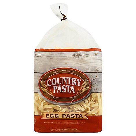 Country Pasta Pasta Egg Noodle Homemade Style Bag - 16 Oz