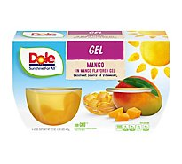 Dole Gel Mango In Mango Gel Multipack - 4-4.3 Oz