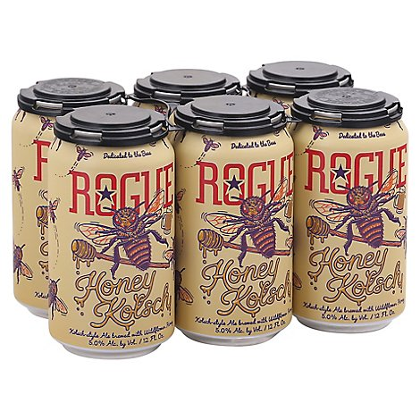 Rogue Honey Kolsch 6pk Cans - 6-12 Fl. Oz.