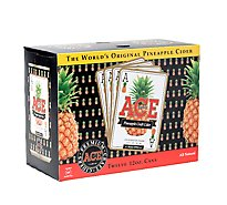 ACE Original Pineapple Cider In Cans - 12-12 Fl. Oz.