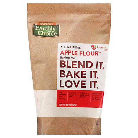 Natures Earthly Choice Flour Apple - 16 Oz