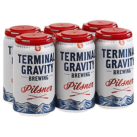 Terminal Gravity Pilsner In Cans - 6-12 Fl. Oz.