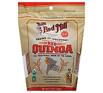 Bobs Red Mill Grains Of Discovery Organic Quinoa Red Gluten Free Non GMO - 13 Oz