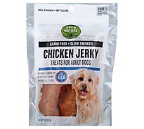 Open Nature Dog Treat Jerky Chicken - 11 Oz