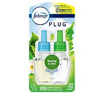 Febreze Plug Scented Oil Refill Gain Meadows & Rain - 0.87 Fl. Oz.