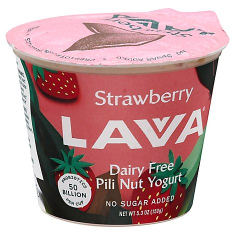 Lavva Yogurt Plant Based Strawberry Cup - 5.3 Oz