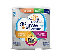 Go & Grow by Similac Toddler Drink Powder Non GMO With 2 FL HMO - 24 Oz