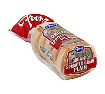 Franz Organic Sprouted Grain Plain Bagel 5ct - 17 Oz