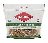 Diamond Shelled Walnuts - 16 Oz