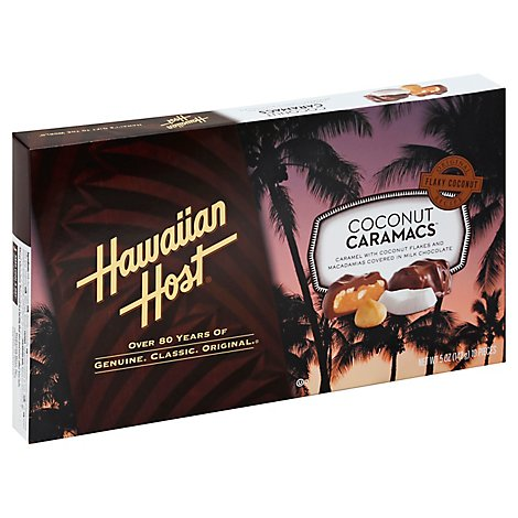 Hawaiian Host Coconut Caramac Box - 5 Oz