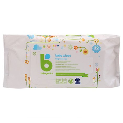 Baby Wipes - 80 Count