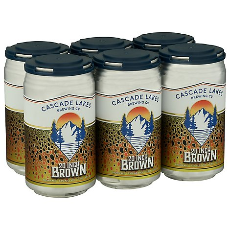 Cascade Lakes Elk Camp Ipa In Cans - 6-12 Fl. Oz.