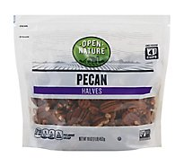 Open Nature Pecan Halves - 16 Oz