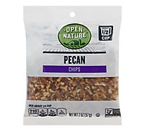 Open Nature Pecans Chips Bag - 2 Oz