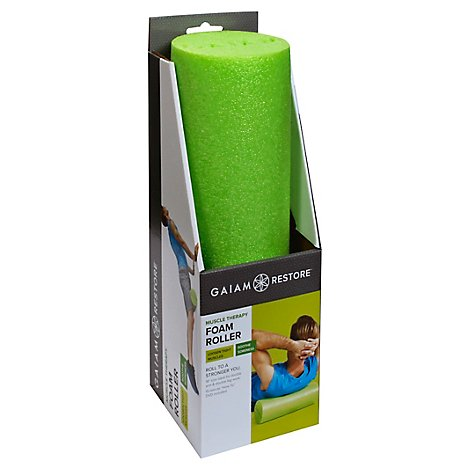 Gaiam Restore Foam Roller Muscle Therapy - Each