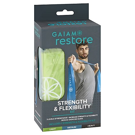 Gaiam Restore Strength & Flexibility Kit Box - Each