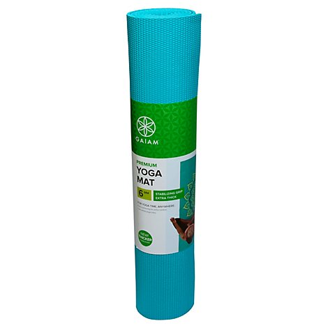 Gaiam Yoga Mat Premium 5MM Capri - Each