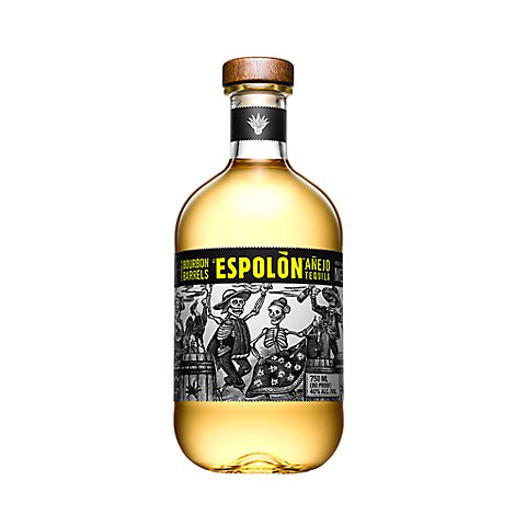 Espolon Tequila Anejo 80 Proof - 750 Ml