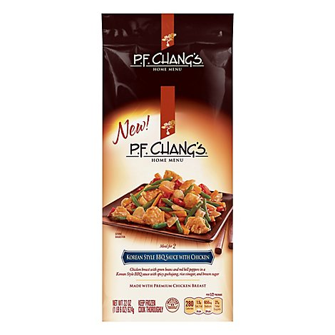Pf Changs Korean Style Bbq Seasoned Chicken - 22 Oz