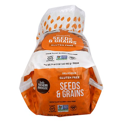 Littlenort Bread Seeds&Grains Gf - 17 Oz