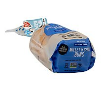 Little Northern Bakehouse Bread Gluten Free Buns Millet & Chia Bag - 11.28 Oz