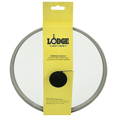 Lodge 10.25 In Tempered Glass Lid - Each