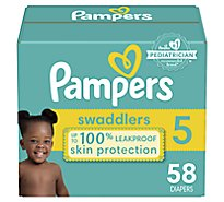 Pampers Swaddlers S5 Super - 58 Count