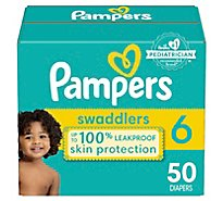 Pampers Swaddlers Diapers Size 6 - 50 Count