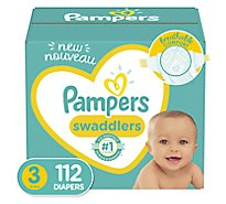 Pampers Swaddlers S3 Giant 1/112 - 112 Count