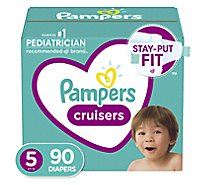 Pampers Cruisers S5 Giant - 90 Count