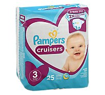 Pampers Cruisers S3 Jumbo - 25 Count