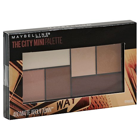 Maybel Mini Palette Matte About Town - 0.14 Oz