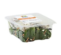 O Organics Salad Spinach With Chicken - 6 Oz