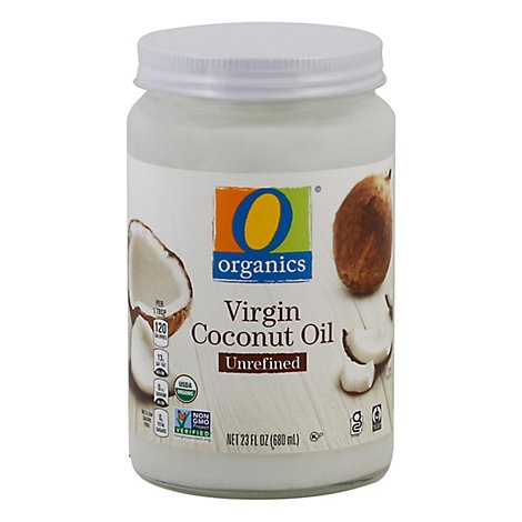 O Organics Organic Coconut Oil Virgin Unrefined Jar - 23 Fl. Oz.