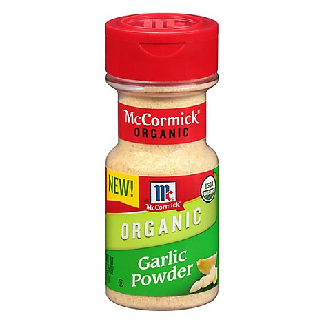 McCormick Organic Ground Garlic Powder 2.75 Oz