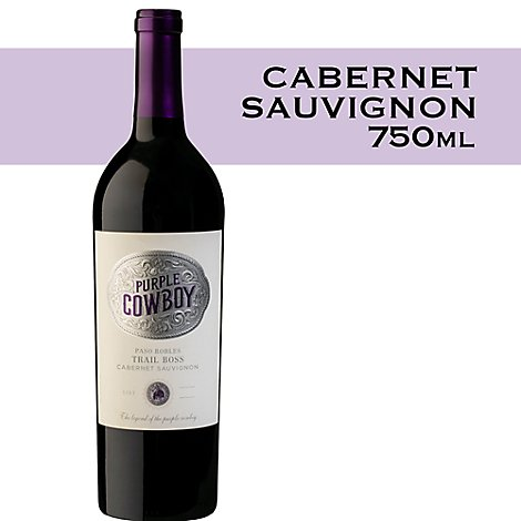 Purple Cowboy Cabernet 750ml - 750 Ml