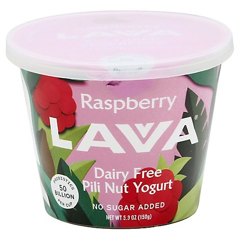 Lavva Yogurt Plant Based Raspberry - 5.3 Oz