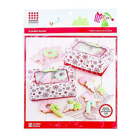 Gc Cookie Box Lg Snw - Each
