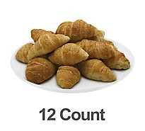 Fresh Baked Natural Butter Croissants - 12 Count