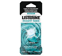 Listerine Ready Tab Clean Mint Chew - 8 Count