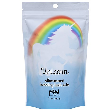 Primal Elements Unicorn Bath Salts - 12 Oz