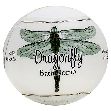 Primal Elements Dragonfly Bath Bomb - 4.8 Oz