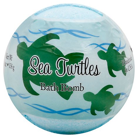 Primal Elements Sea Turtles Bath Bomb - 4.8 Oz
