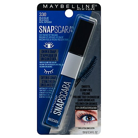 Snap Lash Washable Deja Blue - 0.34 Fl. Oz.