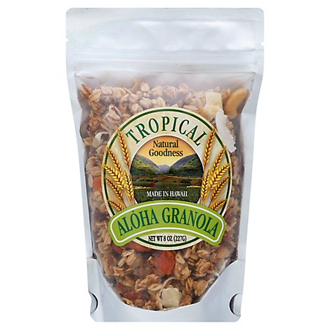 Aloha Granola Granola Tropical - 8 Oz