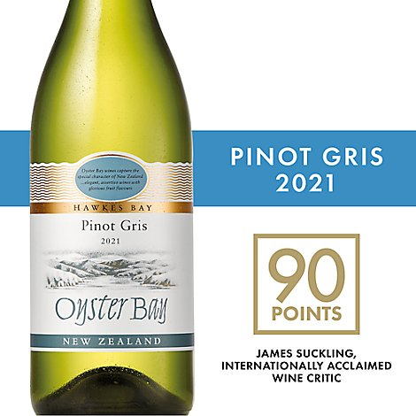 Oyster Bay Pinot Gris Wine - 750 Ml