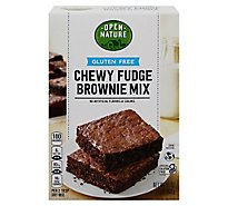 Open Nature Brownie Mix Gluten Free - 16 Oz